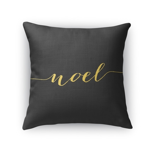 Shop Noel Throw Pillow By Kavka Designs Free Shipping On Orders Over 45 Overstock 22544080