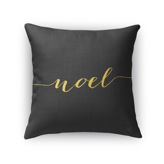 NOEL Throw Pillow By Rosa Vila