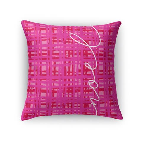 NOEL Throw Pillow by Kavka Designs