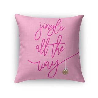 JINGLE Throw Pillow By Kavka Designs