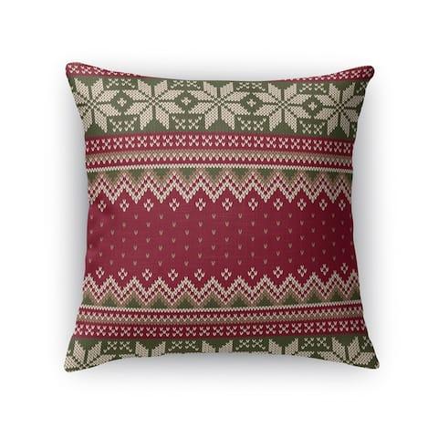 CHRISTMAS 16 Throw Pillow by Kavka Designs