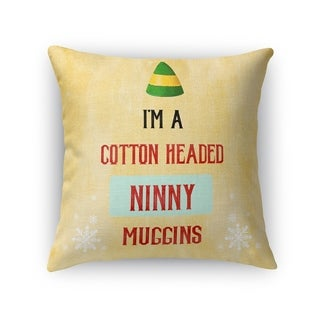 NINNY MUGGINS Throw Pillow By Terri Ellis