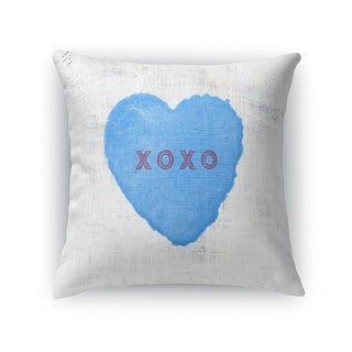 XOXO Throw Pillow By Kavka Designs