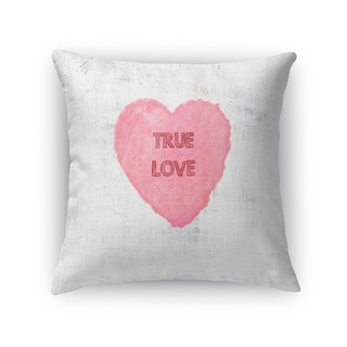 TRUE LOVE Throw Pillow By Kavka Designs