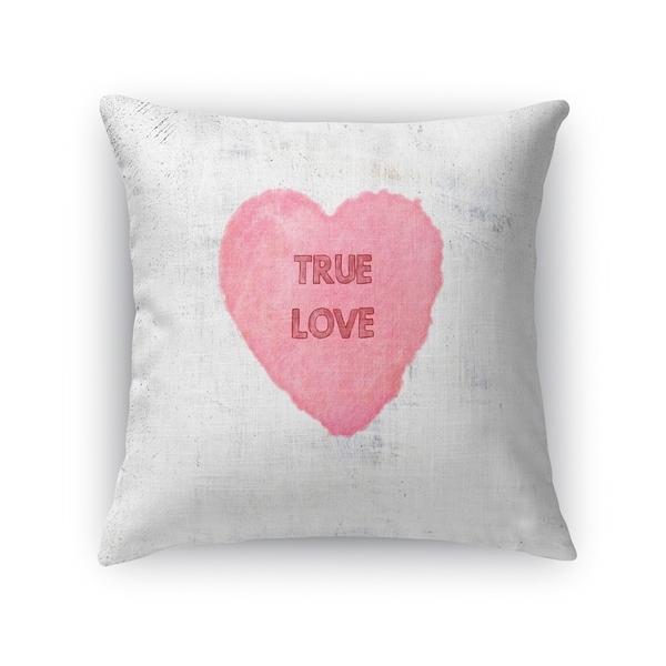 TRUE LOVE Throw Pillow By Kavka Designs