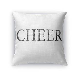 CHEER Throw Pillow By Kavka Designs