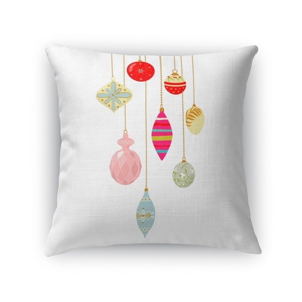 CHRISTMAS BLING Throw Pillow By Kavka Designs