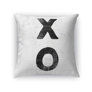 XO Throw Pillow By Kavka Designs