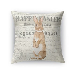 HAPPY EASTER Throw Pillow By Kavka Designs