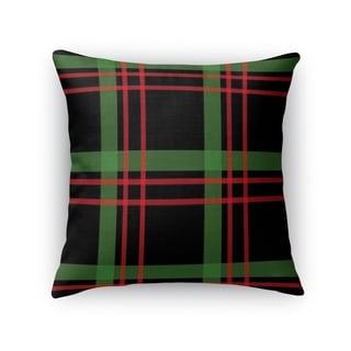 CHRISTMAS PLAID 2 Throw Pillow By Kavka Designs