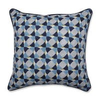 Pillow Perfect Indoor Echo Geo Peacock 18-inch Throw Pillow