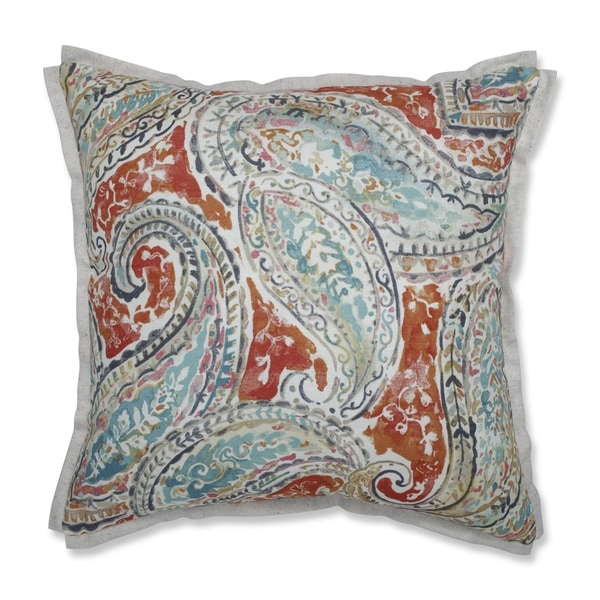 Beau Pillow Perfect Indoor Bright U0026amp; Lively Nectar 16.5 Inch Throw Pillow