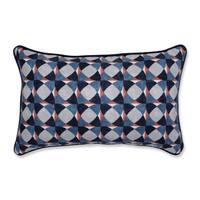 Pillow Perfect Indoor Echo Geo Admiral Rectangular Throw Pillow, 18.5 in. L X 11.5 in. W X 5 in. D