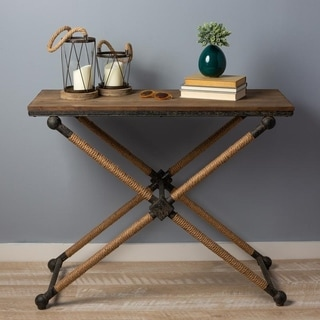 Bruno Natural Accent Table