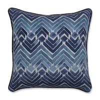 Pillow Perfect Indoor Zen Blend Indigo 16.5-inch Throw Pillow