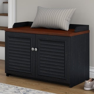 Bush Furniture Fairview Shoe Storage Bench