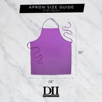 DII XL Chino Chef Kitchen Apron