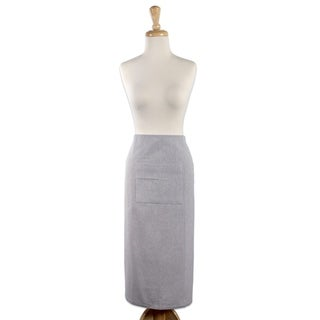 Design Imports Solid Cambray Bistro Kitchen Apron