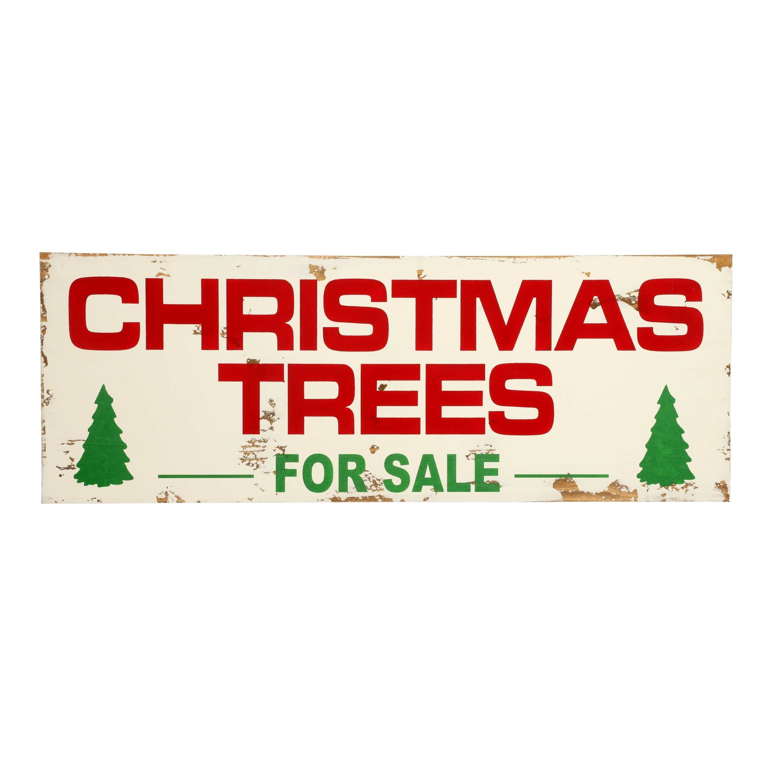 Farmhouse Christmas Wood Sign Holiday Decoration Overstock 22544417