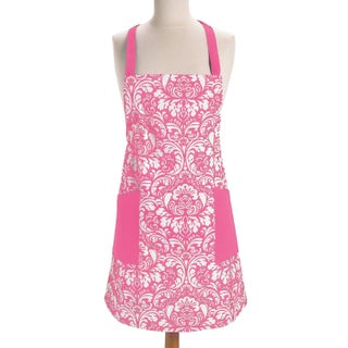 Design Imports Damask Kitchen Apron