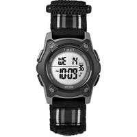 Timex Kids TW7C26400 Time Machines Digital 35mm Black Double-Layered Fast Wrap Watch