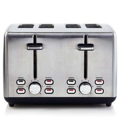 Professional Series 4-Slice Toaster Wide Slot Stainless Steel