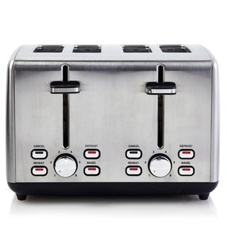 Professional Series Toaster 4-Slice Extra Wide Cool Touch Stainless