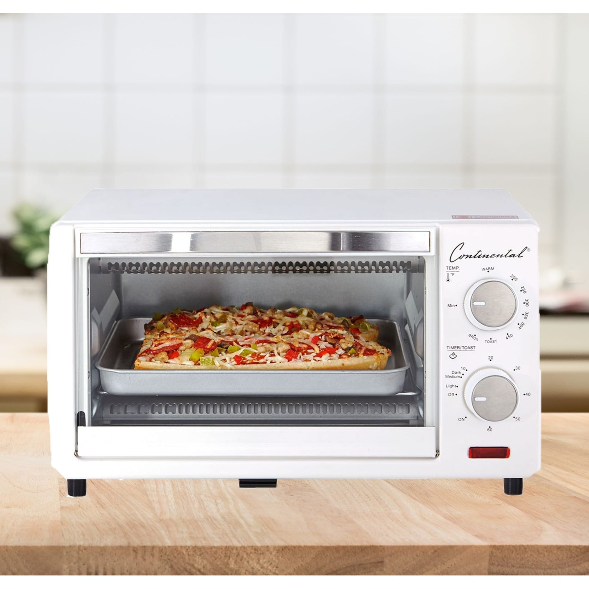 Continental Electric Toaster Oven