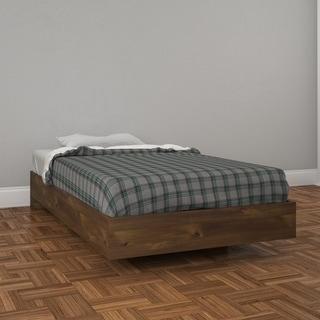 Nexera Nocce Platform Bed, Truffle