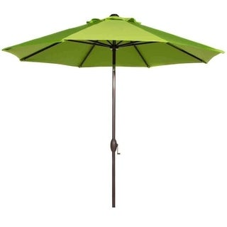Abba Patio 9' Sunbrella Fabric Patio Umbrella Outdoor Market Umbrella