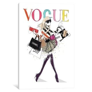 "iCanvas ""Vogue"" by Aaron Favaloro Canvas Print"