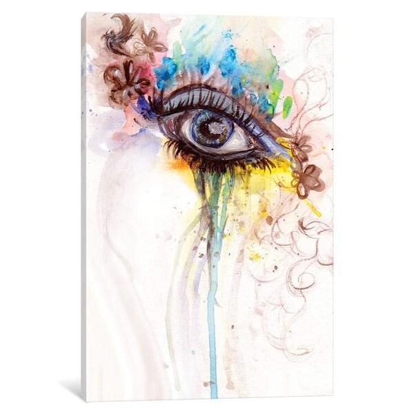 """iCanvas """"Eye"""" by Destiny Womack Canvas Print"""