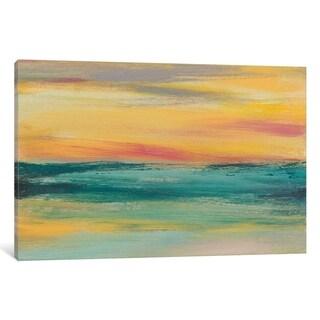 "iCanvas ""Sunset Study III"" by Jennifer Goldberger Canvas Print"