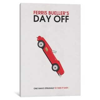 """iCanvas """"Ferris Bueller's Day Off, Alternative"""" by Popate Canvas Print"""