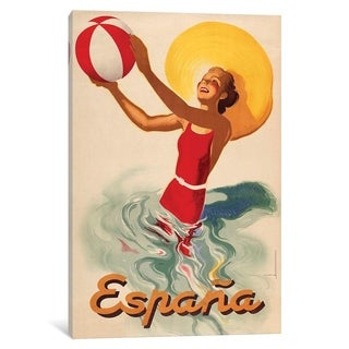 "iCanvas ""Espana Outdoors"" by Vintage Apple Collection Canvas Print"