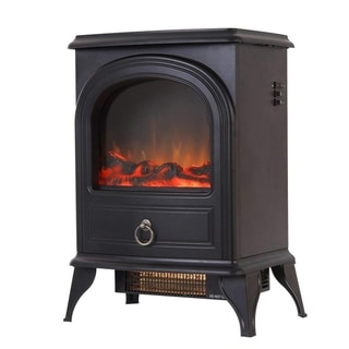 """Valuxhome 22"""" 750W/1500W, Free Standing Electric Fireplace Heater"""