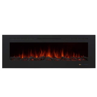 "Valuxhome Armanni 60"" 750W/1500W, Electric Fireplace Recessed Heater"