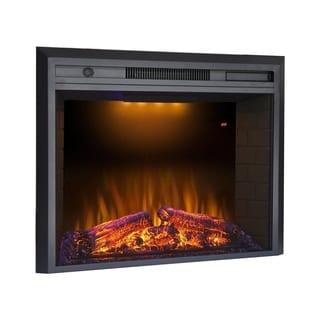 "Valuxhome Houselux 36"" 750W/1500W, Electric Fireplace Insert"