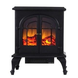 "Valuxhome Burbank 24"" 750W/1500W Free Standing Electric Fireplace"