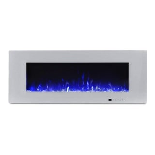 "Valuxhome Luxey 50"" 750W/1500W Wall Mounted Electric Fireplace - N/A"
