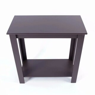 Simple Two-layer Bedside Cabinet Coffee Table Brown