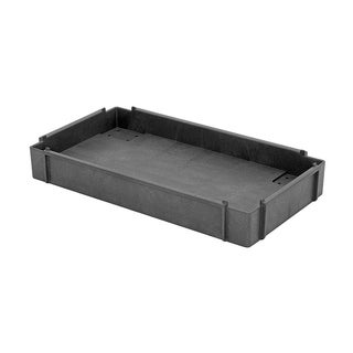 "Offex Polymer Mobile Cart Additional Shelf 34-1/4"" x 17-1/2"" x 4-3/16"" - Gray"