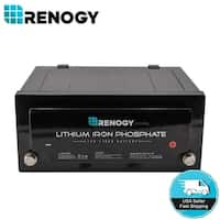 Renogy 12 Volt 170Ah Lithium Iron Phosphate Battery Deep Cycle for Solar Panels