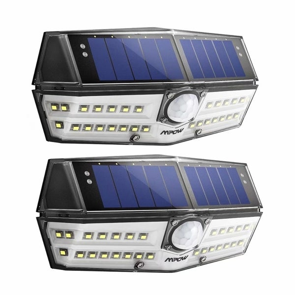 Driveway Solar Lights For Sale: Shop 2 Pack Mpow 30 LED Solar Light Great Outdoor Light