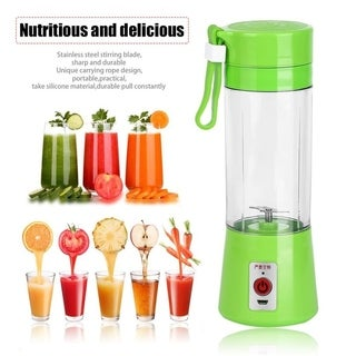 380ml USB Electric Fruit Juicer Handheld Smoothie Maker Blender Juice Cup