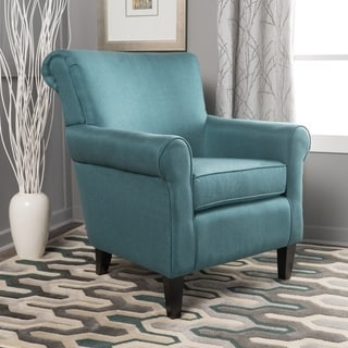 Link to Roseville Fabric Club Chair by Christopher Knight Home Similar Items in Accent Chairs