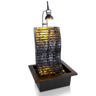 Water Fountain - SLTWF81LED Relaxing Tabletop Water Feature Decoration