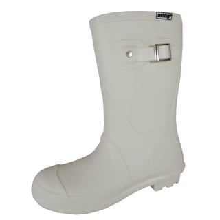 Mustang by MTNG Womens 55596 Pull On Rain Boots, White