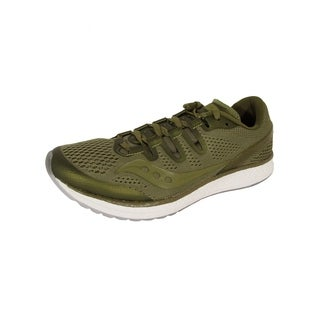 Saucony Mens Freedom ISO Running Sneaker Shoes, Olive