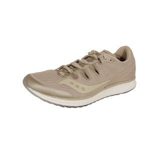 Saucony Mens Freedom ISO Running Sneaker Shoes, Tan